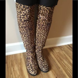 🐯UNISA 🐯 LEOPARD Over the knee boots 6.5
